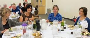 Mentors at dinner